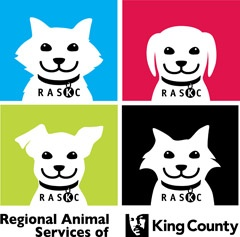 Logo for Regional Animal Services of King County.