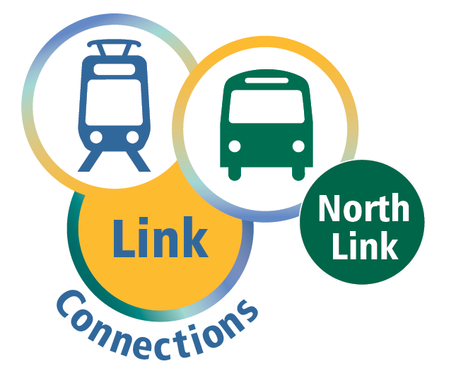 Logo for Metro's North Link Mobility Project