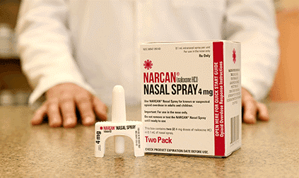Image of Narcan packaging
