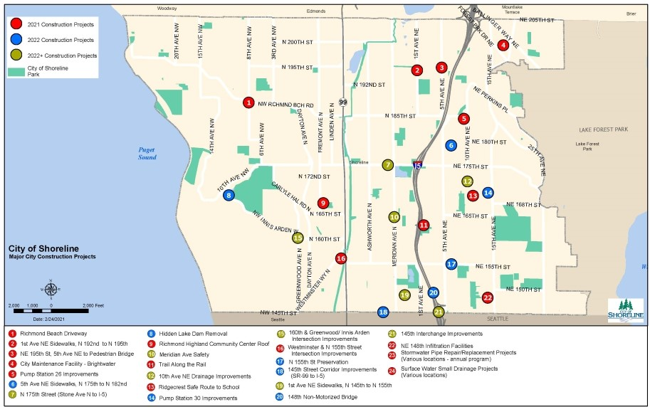 2020 March_Capital Improvement Projects Map