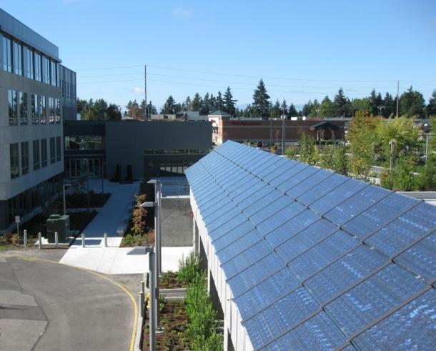 Shoreline City Hall Solar Panels